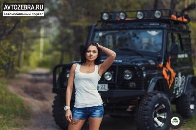 УАЗ и красивая девушка.jpeg